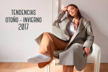 Tendencias moda otoño 2017 | Chaquetas oversize de cuadro galés