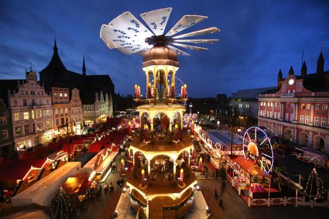 El mayor mercado de navidad en el norte de alemania se - Navidades en alemania ...