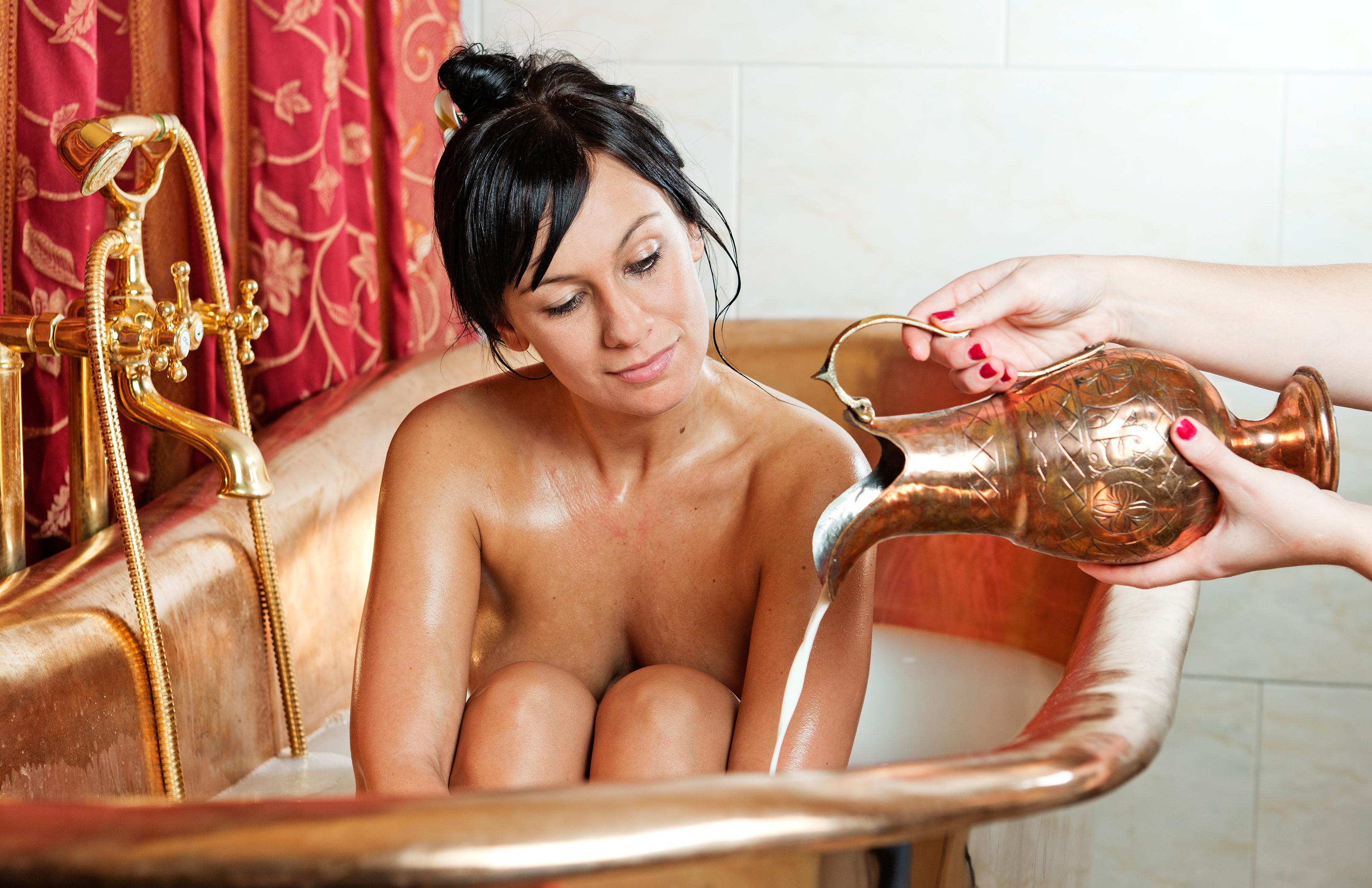 Aditivos caseros para el agua de baño