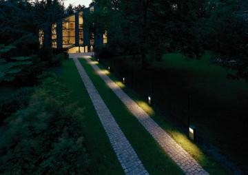 Una iluminaci n segura para la casa y el jard n el for Iluminacion caminos jardin