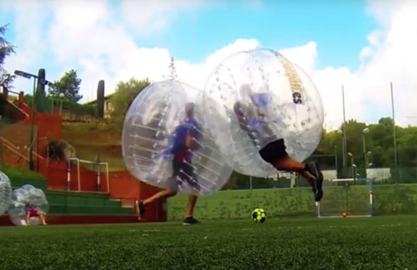 Burbuja-Fútbol