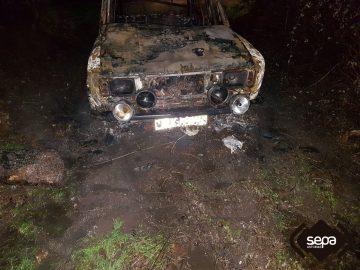 Incendio en dos coches en arg elles siero el digital de - El tiempo en siero asturias ...