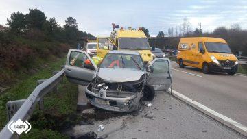 Una mujer herida en un accidente en siero el digital de - El tiempo en siero asturias ...