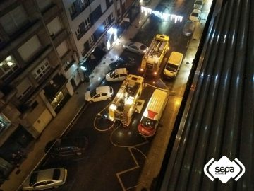 Incendio en un bloque de siete alturas en pola de siero - El tiempo en siero asturias ...