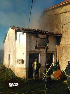 Incendio en dos viviendas de limanes y xix n el digital - El tiempo en siero asturias ...
