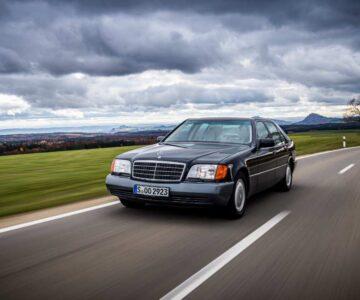 Mercedes Clase S W140