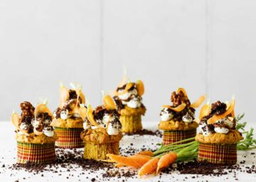 cupcakes de mascarpone y zanahoria