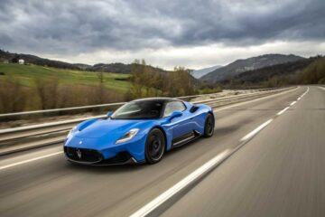 El nuevo superdeportivo de Maserati