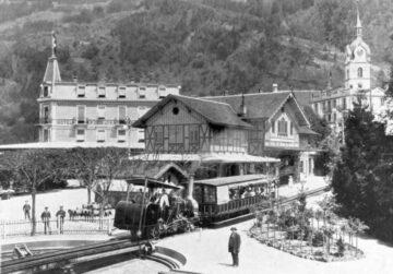 primer tren de montaña de Europa