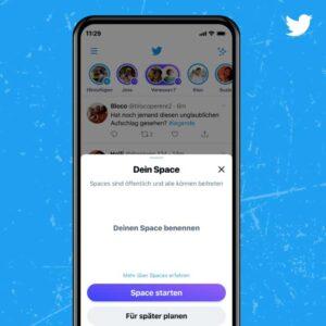 Spaces de Twitter