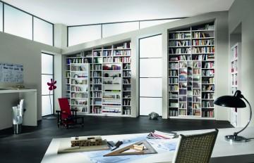 Platz für viele gute Bücher - Eine Bibliothek einrichten