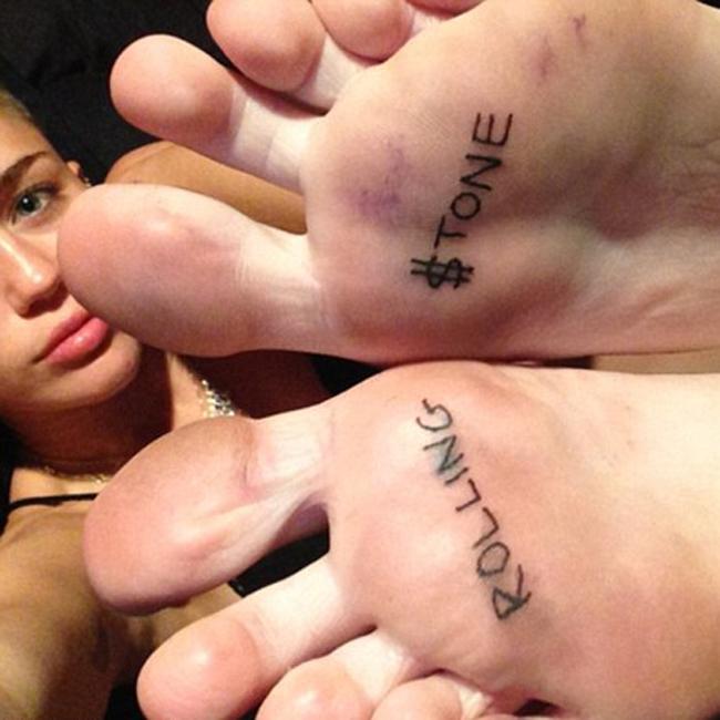 Especial Miley Cyrus 2013 Tatuajes Que Dejan Huella El Digital