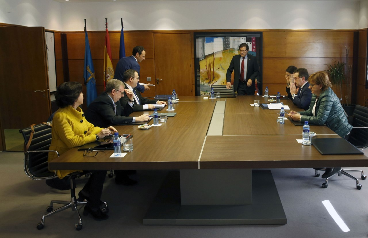 Reunion Consejo Gobierno