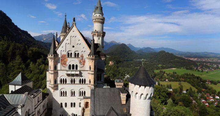 Vista del castillo de Neuschwanstein. Foto: Karl-Josef Hildenbrand/dpa