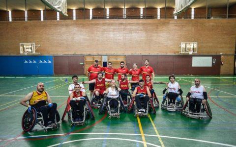 Selección Española Rugby silla de ruedas