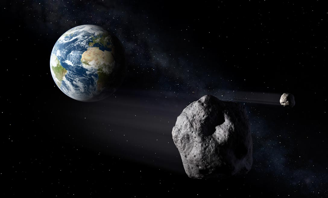 Hay asteroides que se han estrellado contra la Tierra con consecuencias devastadoras. Foto: ESA Science Office