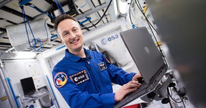 Matthias Maurer, próximo astronauta alemán que viajará a bordo de la estación espacial internacional ISS. Foto: Federico Gambarini/dpa