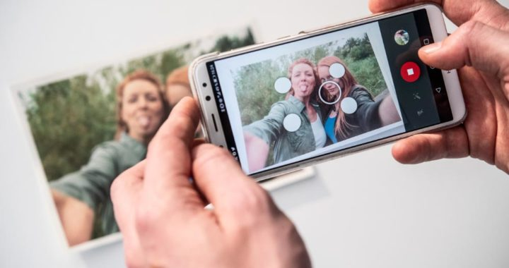 Una app para mejorar las fotos. Foto: Robert Günther/dpa-tmn