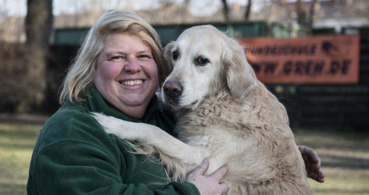 Katja Krauß es entrenadora de perros en una escuela y trabaja como especialista del tema en Berlín. Foto: Robert Günther/dpa-tmn