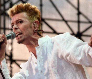 """David Bowie en el festival """"Go Bang"""" de Lübeck, Alemania. Foto: Markus_Beck/dpa"""