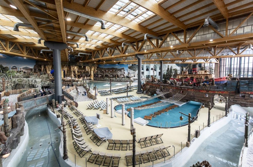 El parque Europa de Rust, en el sur de Alemania, tiene un nuevo sector acuático. Foto: Patrick Seeger/dpa/dpa-tmn