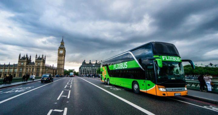 El Flixbus en Londres. Foto: FlixMobility/dpa-tmn