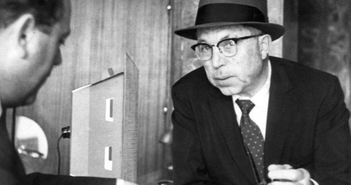 El director de cine estadounidense King Vidor (1894-1982). Foto: o / dpa