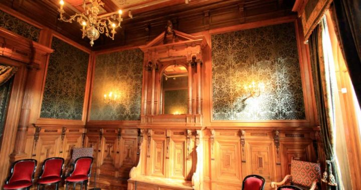 La antigua sala de espera de la estación de trenes de La Haya CS está ahora en el Museo del Ferrocarril de Utrecht. Foto: Bernd F. Meier/dpa-tmn