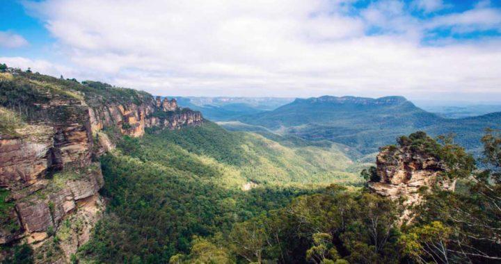 Las Montañas Azules fueron una de las regiones de Australia afectada por los incendios. Foto: Tourism Australia/dpa-tmn