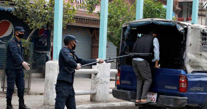 Foto: Manoj Bhusan Khadka/Polizei Nepa / DPA