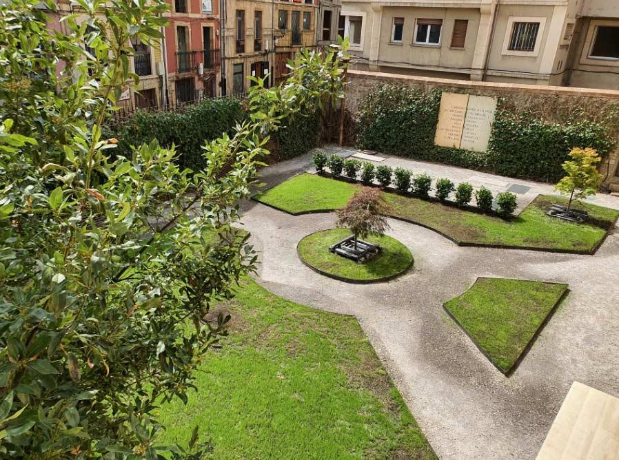 Jardín del Palacio de Velarde