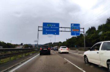 Tráfico en Asturias