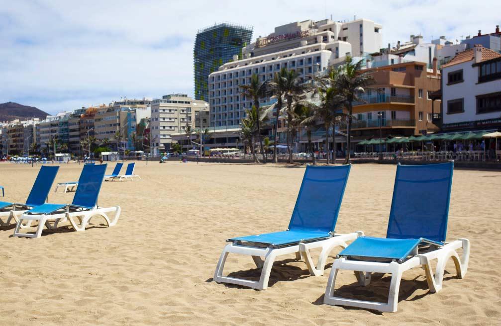Playa en Las Palmas de Gran Canaria, España