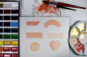 actividad de pintar