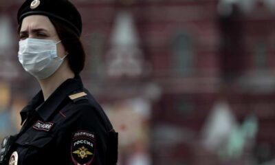 Imagen de archivo de una agente de Policía rusa