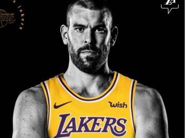 Marc Gasol llega a los Lakers