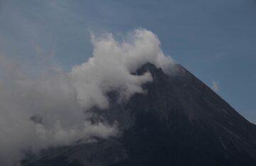 Volcán Merapi en Yakarta