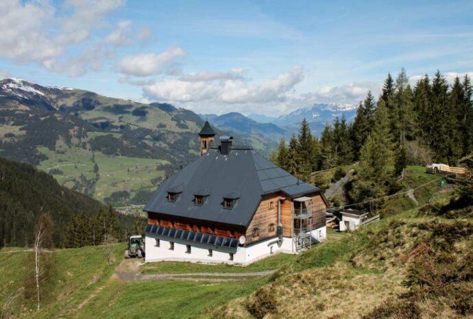 refugios alpinos