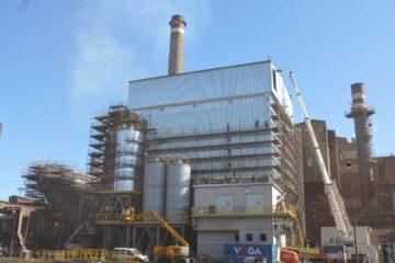 Factoria de ArcelorMittal en Gijón