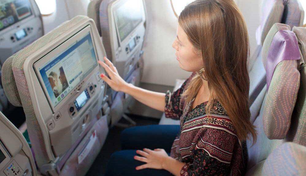 asiento en el avión